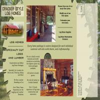 Bob harris design image gallery project cracker style for Cracker style log homes prices