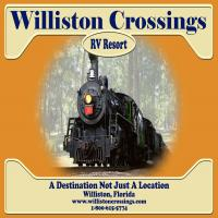 Williston Crossings Ad Sign